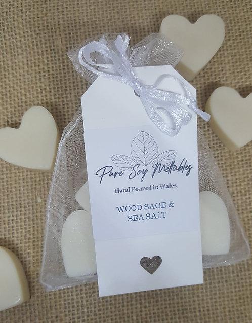 Wood Sage & Sea Salt Soy Wax Melts