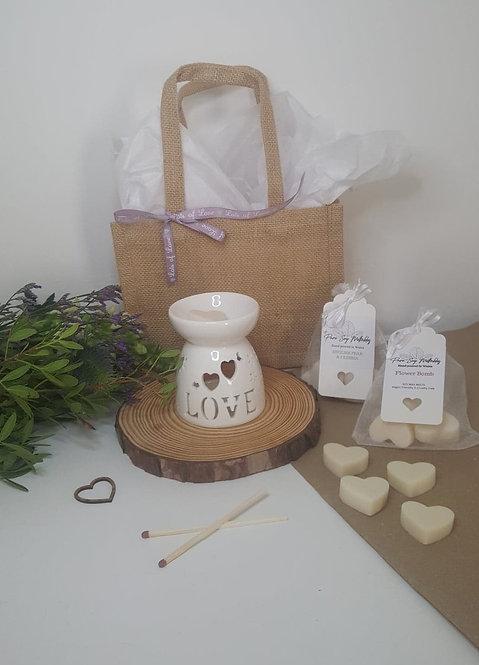 LOVE/Flower Burner Small Gift Set