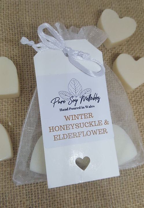 Winter Honeysuckle & Elderflower Soy Wax Melts