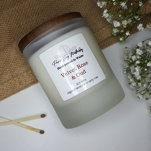 Velvet Rose & Oud Soy Candle