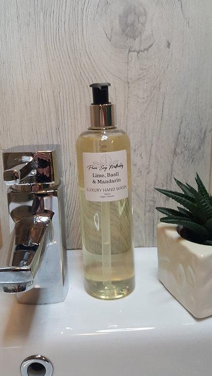 Lime, Basil & Mandarin Luxury Hand Wash