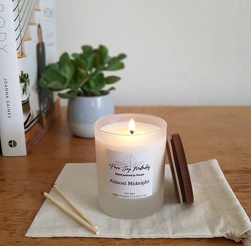 Almost Midnight Soy Candle