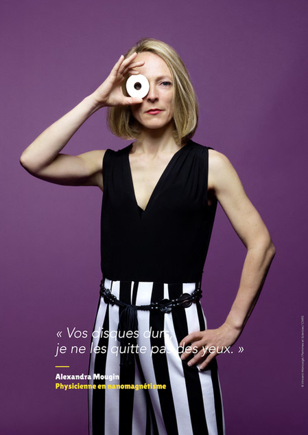 Alexandra Mougin - Physicienne en nanomagnétisme