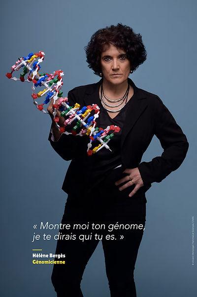 Hélène Bergès - Génomicienne