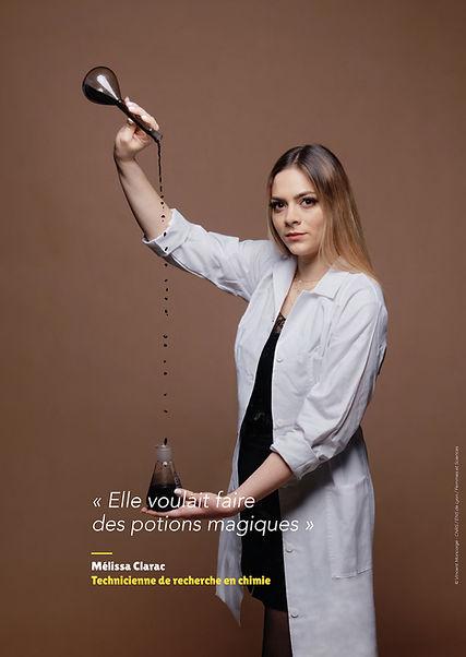 Mélissa Clarac – Technicienne de recherche en chimie
