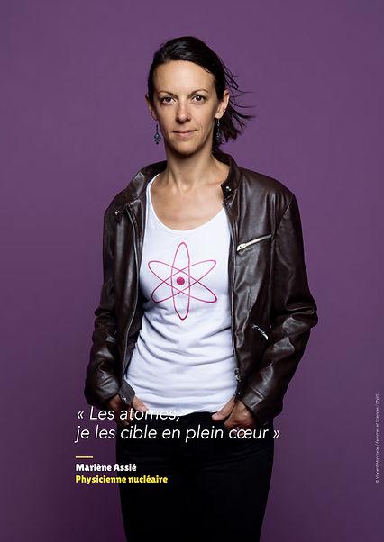 Marlène Assié - Physicienne nucléaire