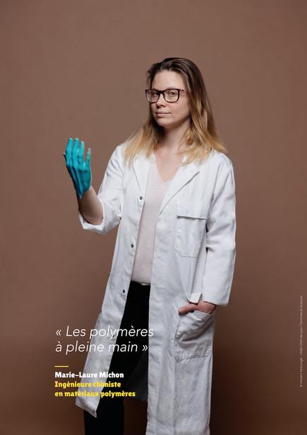 Marie-Laure Michon – Ingénieure chimiste en matériaux polymères