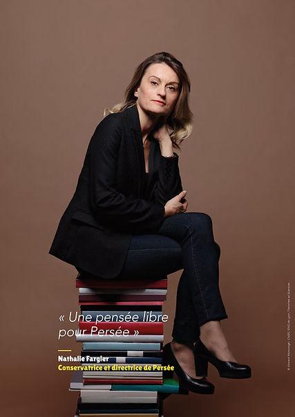 Nathalie Fargier – Conservatrice et directrice de Persée