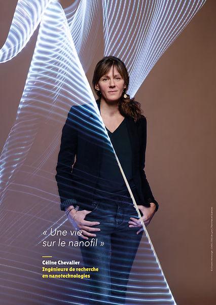 Céline Chevalier – Ingénieure de recherche en nanotechnologies