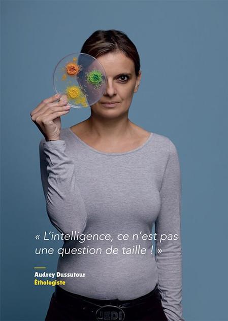 Audrey Dussutour - Éthologiste