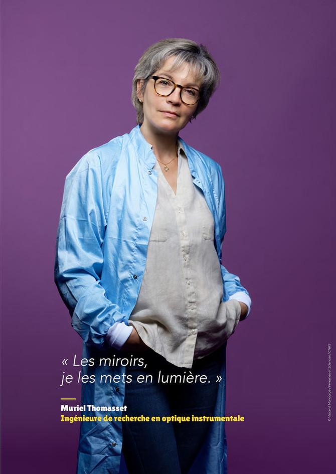 Muriel Thomasset - Ingénieure de recherche en optique instrumentale