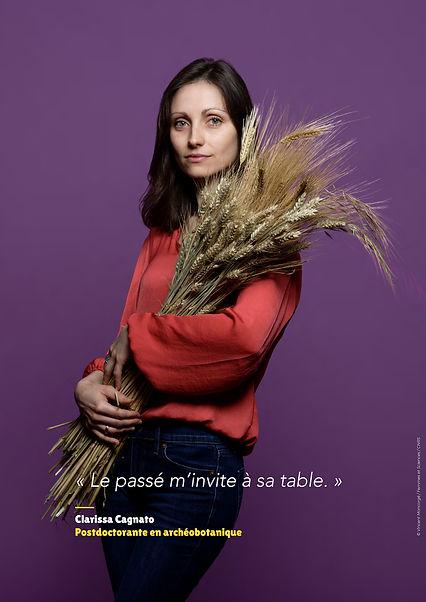 Clarissa Cagnato - Postdoctorante en archéobotanique