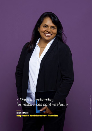 Marie Mars - Responsable administrative et financière