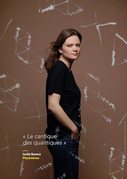 Lucile Savary – Physicienne