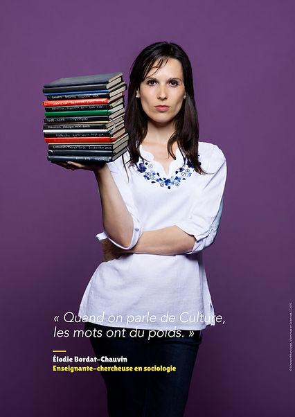 Élodie Bordat-Chauvin - Enseignante-chercheuse en sociologie