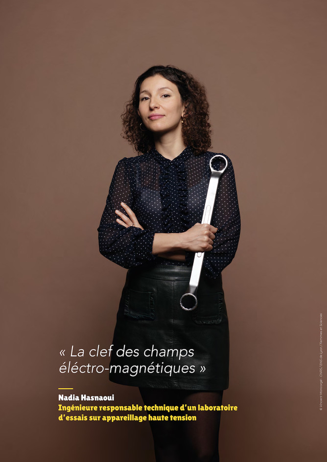 Nadia Hasnaoui – Ingénieure, responsable technique