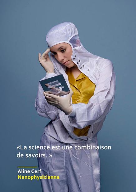 Aline Cerf - Nanophysicienne