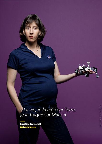 Carole Freissinet - Astrochimiste