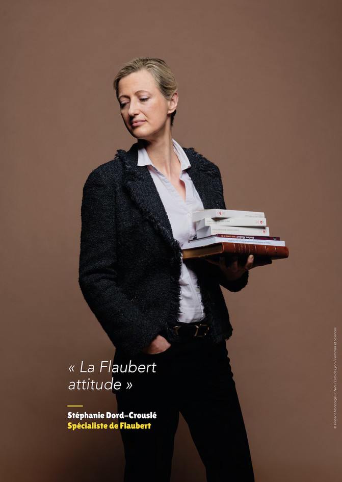 Stéphanie Dord-Crouslé – Spécialiste de Flaubert