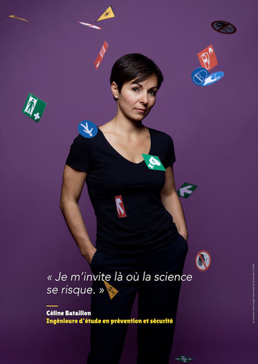 Céline Bataillon - Ingénieure d'étude en prévention et sécurité