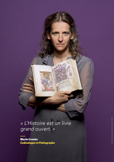 Marie Cronier - Codicologue et paléographe