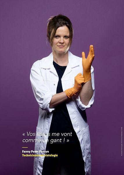 Fanny Petit-Fontyn - Technicienne en histologie