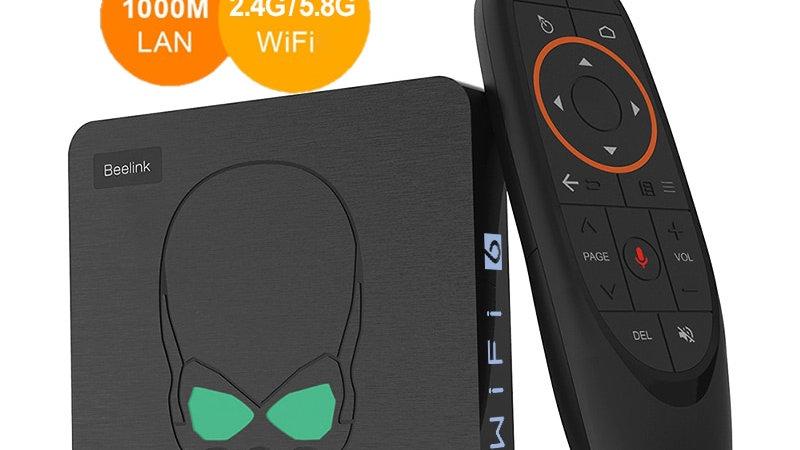 Beelink GT King WiFi 6 TV BOX Android 9.0 Amlogic S922X Quad-Core 4GB 64GB TVBOX