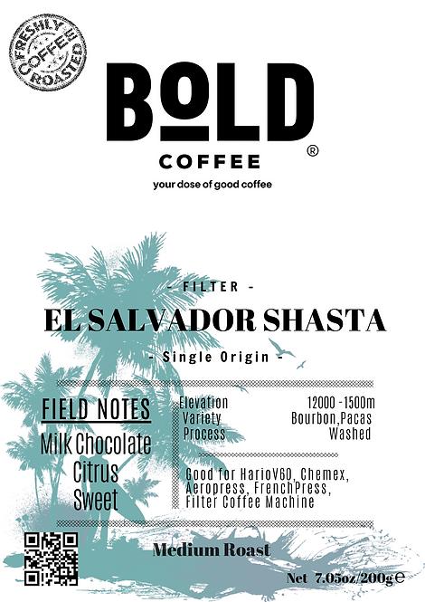 bold coffee el salvador coffee product label png
