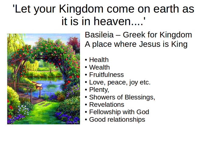 Let Your Kingdom Come - Update