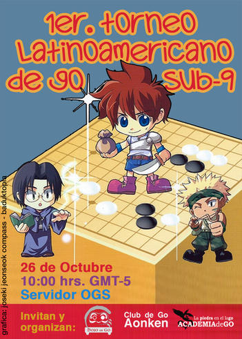 1er. Torneo latinoamericano de go Sub-9