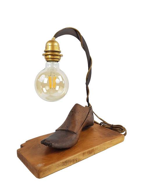 Lampe à poser forme à chaussure