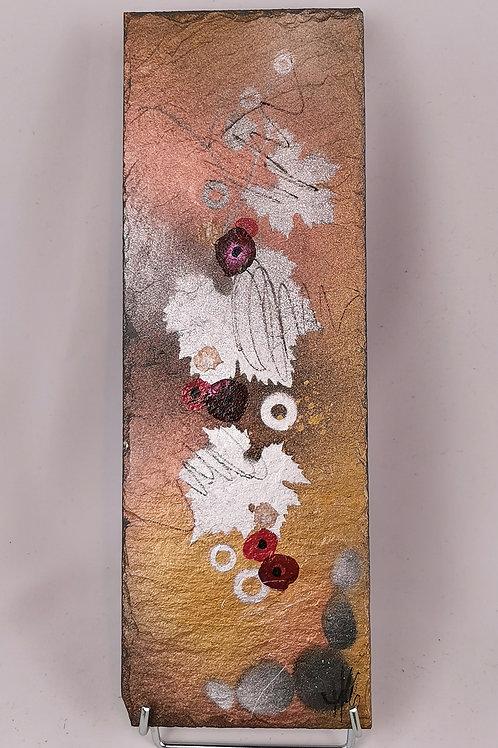 Peinture sur ardoise naturelle