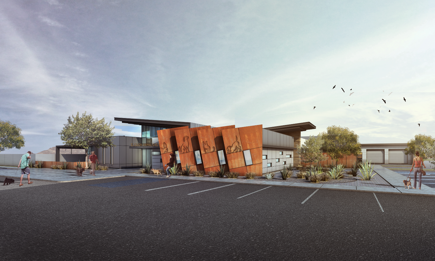 El Cajon Animal Shelter (Design by FPB Architects)