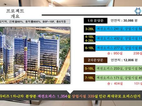 DMC스타비즈 향동 분양가 모델하우스 정보 2부