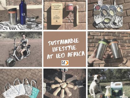 LEO Africa's approach to a sustainable lifestyle