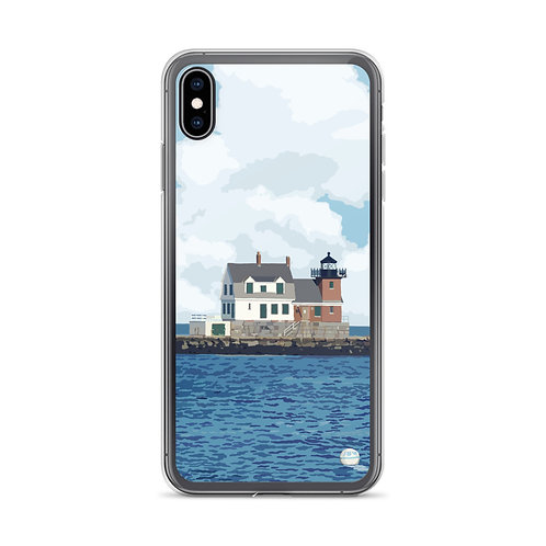 Rockland Breakwater - Maine - Phone Case