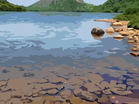 New Artwork - Jordan Pond