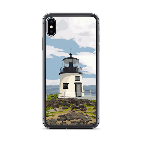 Owls Head Light - Maine - Phone Case