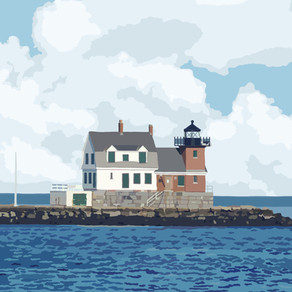 History of Rockland Breakwater Lighthouse