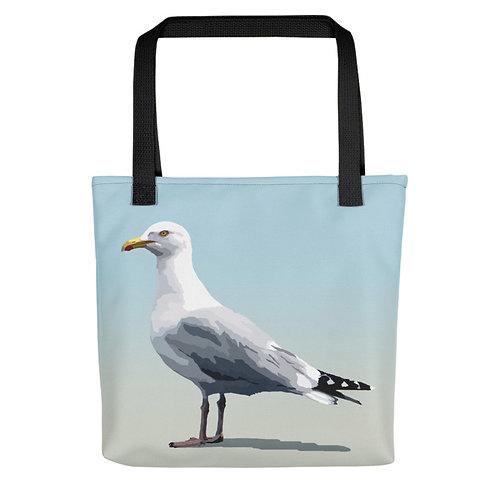 Herring Gull - Bird Art - Tote Bag