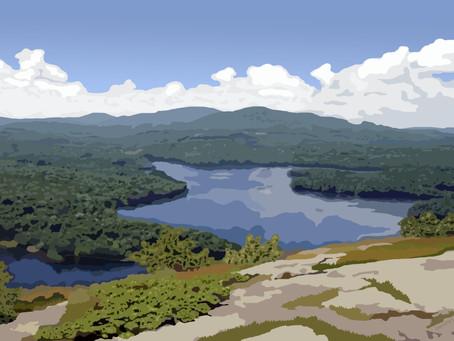 New Artwork - Megunticook Lake