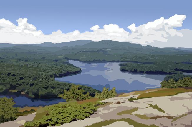 Megunticook Lake View