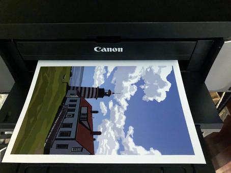 Behind the Scenes - Printing
