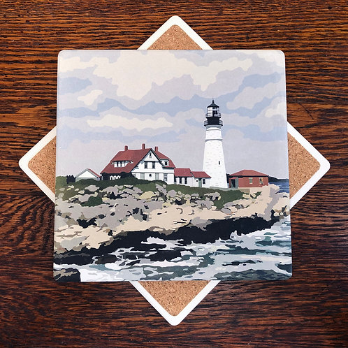 Portland Head Light - Maine Lighthouse Trivet