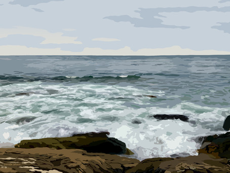 New Artwork: View From the Marginal Way