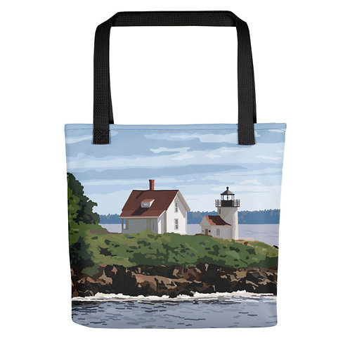 Curtis Island Light - Maine Lighthouse Tote Bag