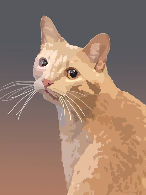 Custom Pet Portraits - Cats, Dogs, Birds
