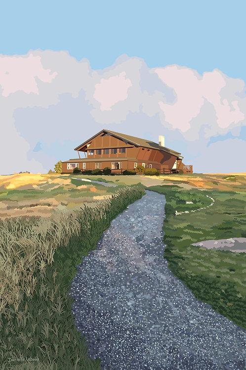 Mount Agamenticus - Cape Neddick, Maine - Graphic Art Print