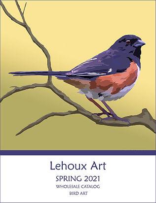 2021 WHOLESALE CATALOG - BIRD ART COVER.