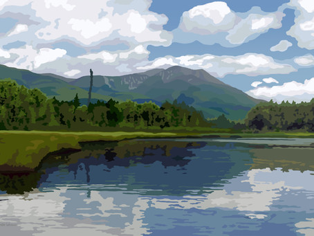 New Artwork - Mount Katahdin (and the story that goes along with it)